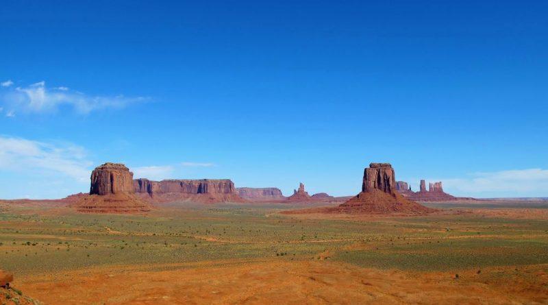 """PARQUES DE EEUU, el """"salvaje oeste"""" de John Wayne"""